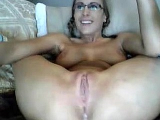 I am so cheerful my girlfriend discovered a new hobby. Her pussy is so sweet and inviting as she plays with her vibrator and new dildo. I am very grateful for leaving the webcam turned on before I left for work.
