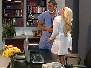 Candy is a secretary at a hospital who has a crush on Dr. Mountain. That Babe fantasizes about him on the job and dreams of him fucking her right there at her desk. Unfortunately, Candy has always been too shy to do..